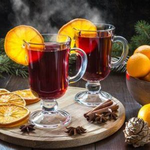 Mulled Wine & Cordials